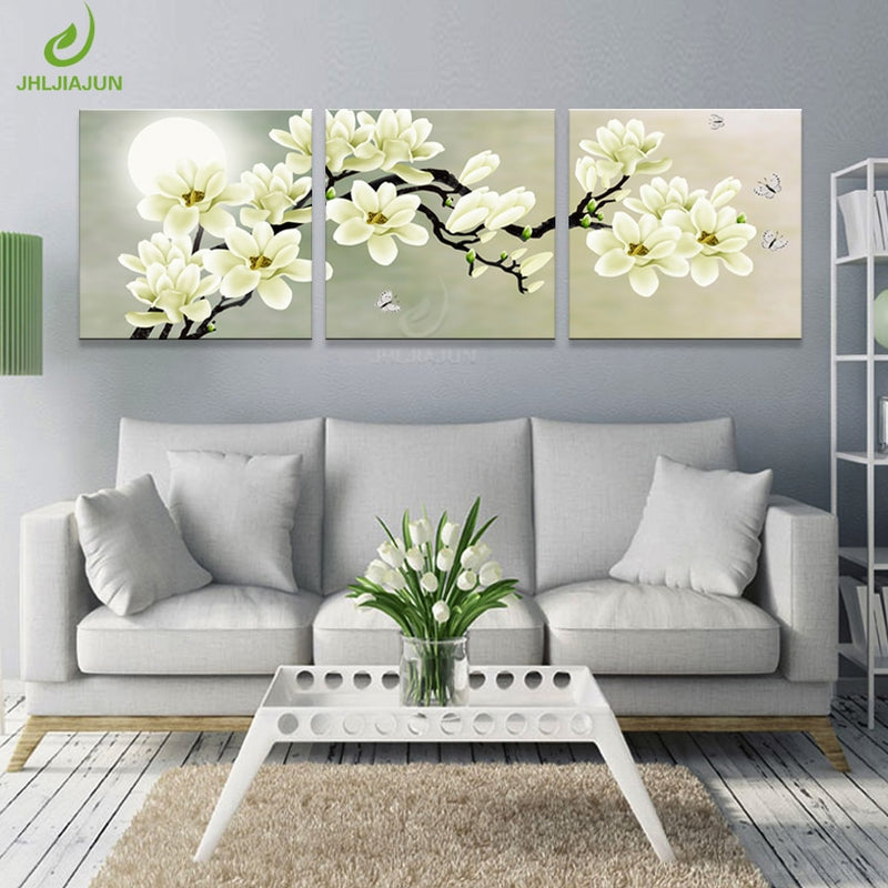 Canvas Painting Wall Green Orchid Picture Prints And Posters Room Art Print