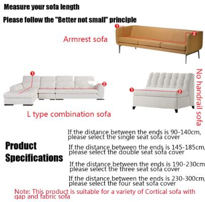 Universal Sofa Cover Flexible Stretch Big Elasticity