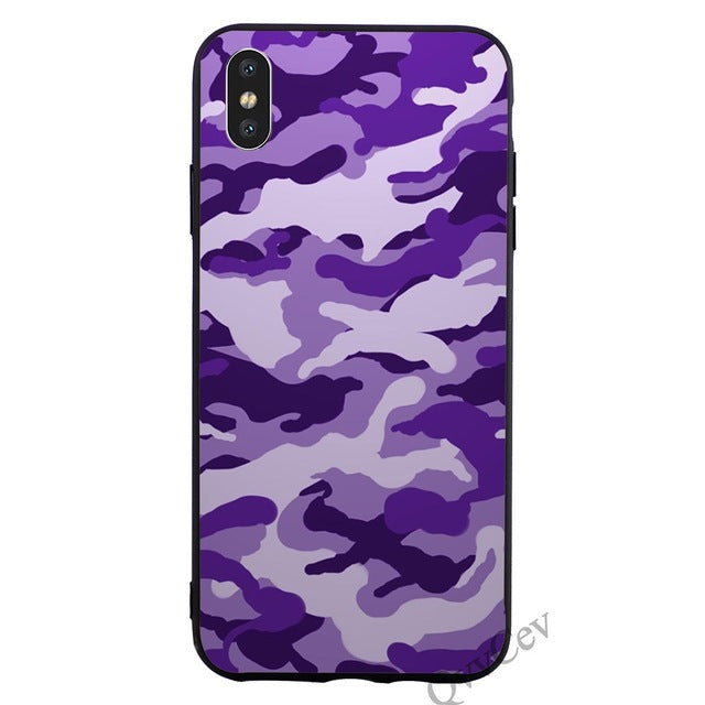 Fashion Camouflage Pattern Camo military Army Phone Cover for iPhone