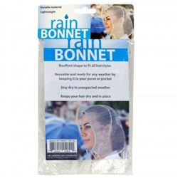 Bouffant Style Rain Bonnet Case Pack 48
