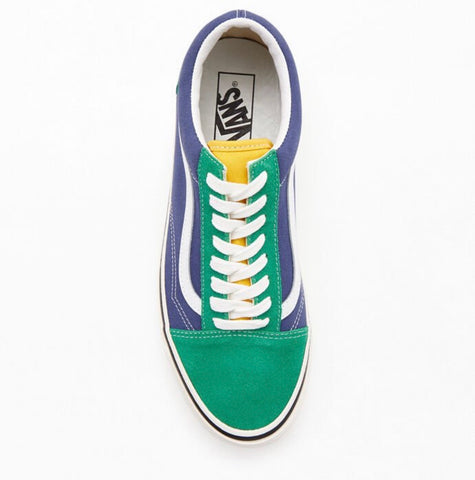 Vans Green Anaheim Factory Old Skool 36 DX Shoes