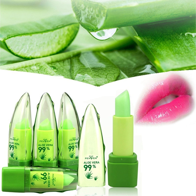 Keep Wet Lip Products Natural Aloe Vera Moisturizing Lipstick Lasting Lip Make Up