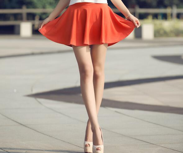 Korean Lining Skirt for Girl chiffon Short