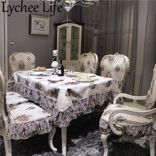 Lychee Life Seattle Pattern Printed Table Cloth