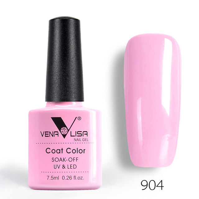 Nail Art Design Manicure Venalisa 60Color 7.5Ml Soak Off Enamel Gel Polish UV