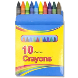 Wholesale 10 color Crayons Case Pack 96