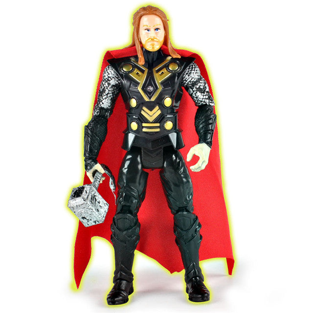 Super Hero Avengers Action Figure Toys Thor Captain America Wolverine Spider Man