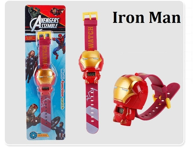 The Avengers 3 Electric Kids Boy Watch