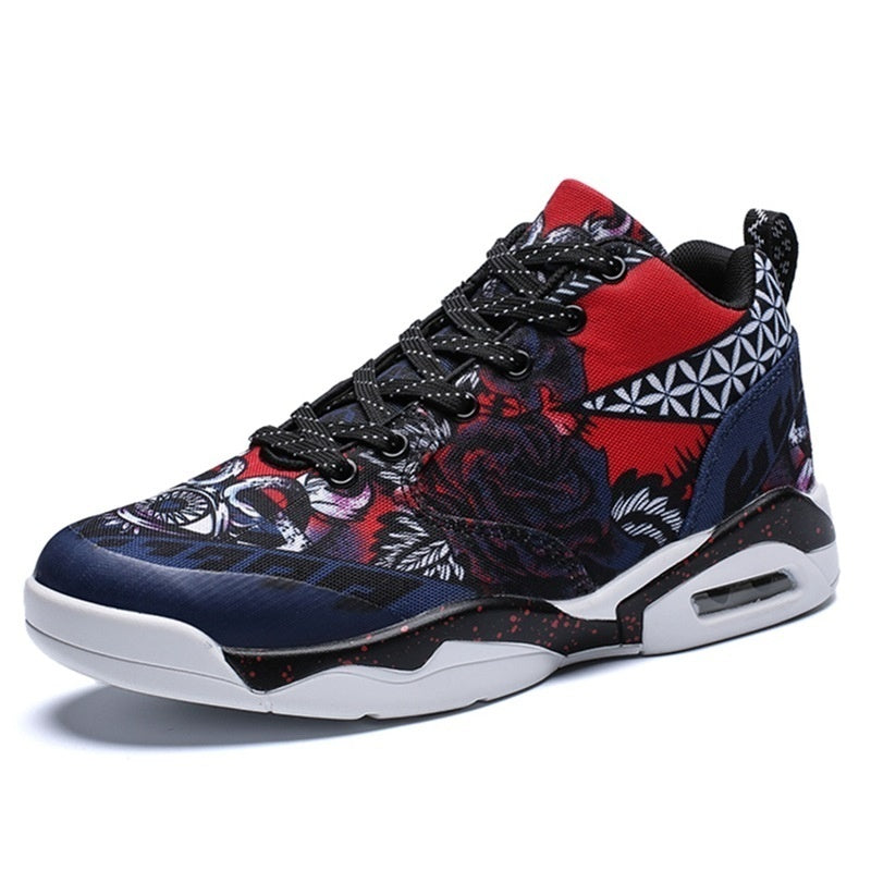 Men/ Women Air Cushion Basketball Shoes Running Tennis Shoes Fashion Sneaker