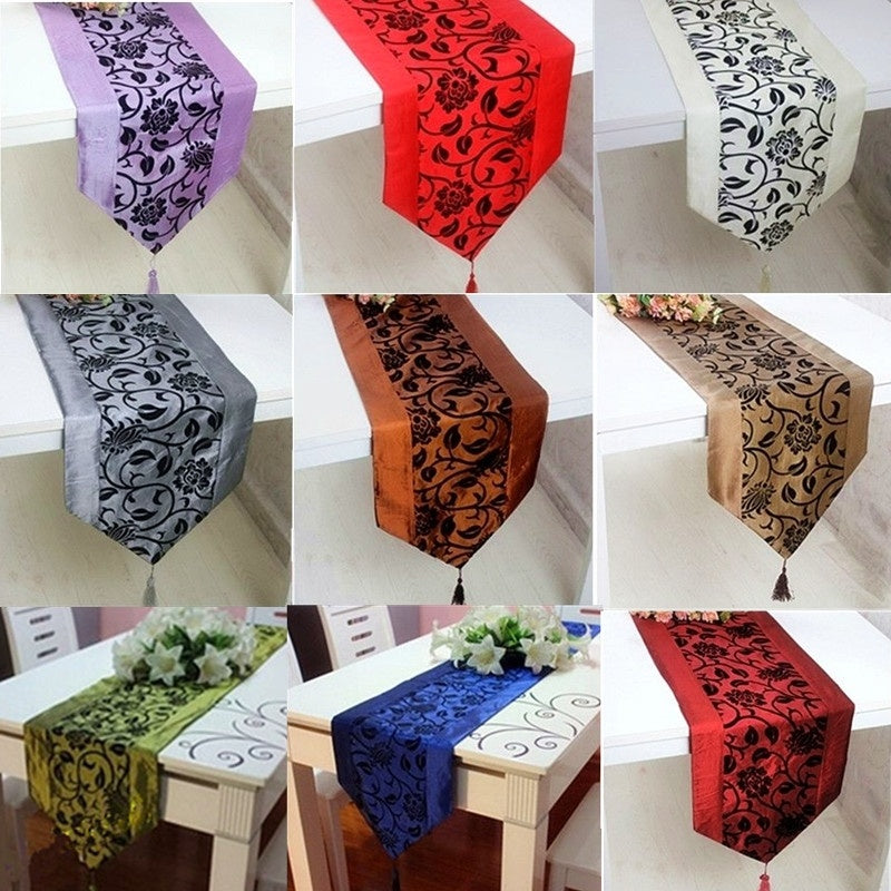 Flower Tablecloth Table Runner Tables Cloth