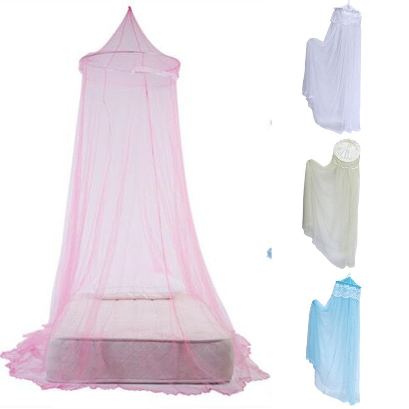 Nordic Style Dome Mosquito Nets Curtain For Bedding Set Valance Bed Netting Kids