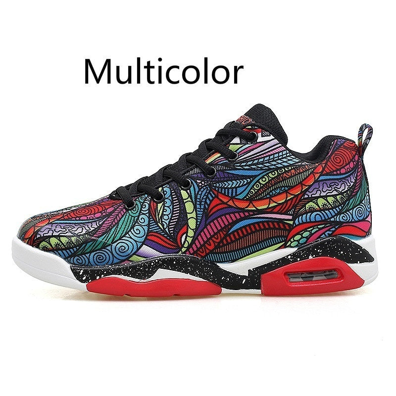 Men's Womens Air Cushion Basketball Shoes Running Tennis Shoes Fashion Sneaker 35-47