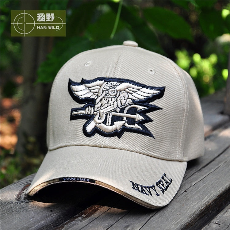 US Navy Seal Logo Cap Top Quality Military Caps Outdoor Hunting Fishing Hat Baseball Hats Adjustable