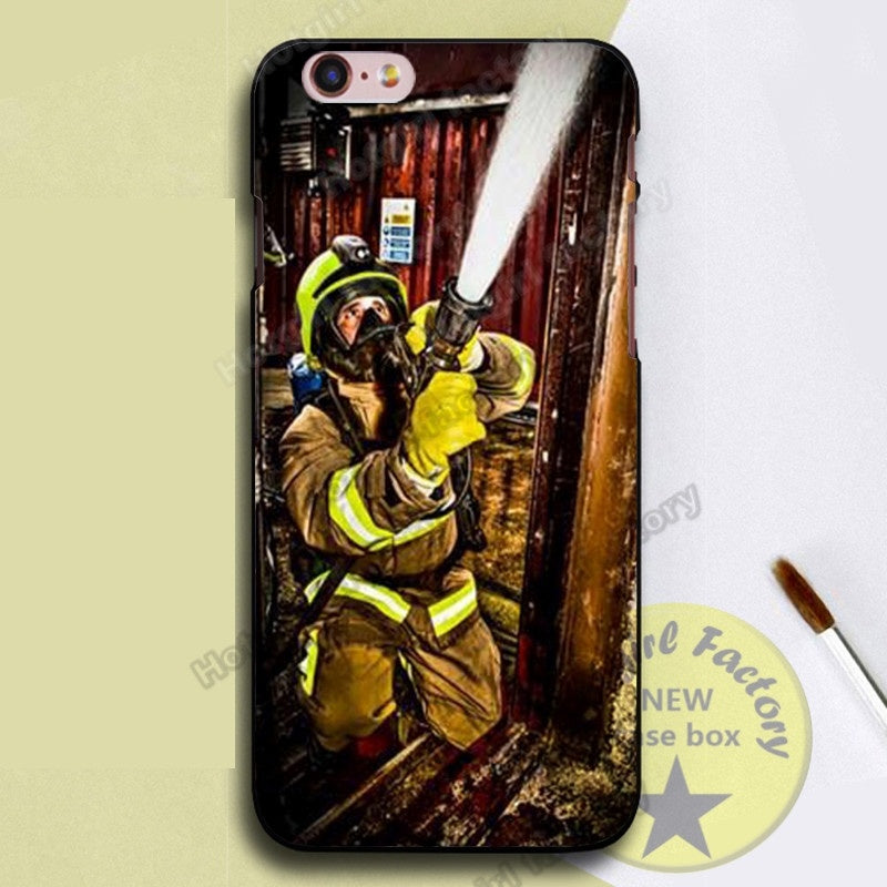 Firefighter Print Phone Case for IPhone/Samsung/Huawei