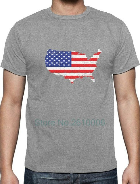 USA American Flag 4th of July Patriotic T-Shirt Independence Day
