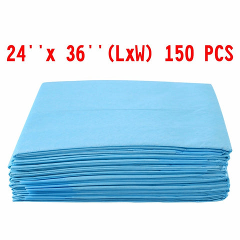 "150 PCS 24"" x 36"" Puppy Pet Pads Dog Cat Wee Pee Piddle Pad training underpads  PS6106"
