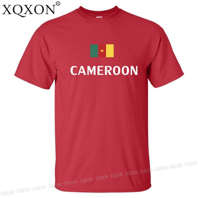 XQXON-Cameroon design harajuku t shirt men tops K174