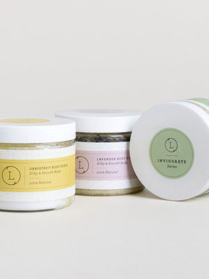 Natural Body Scrub - Exfoliating Scrub & Moisturizing Body Scrub (Lavender, Lemongrass or Grapefruit)