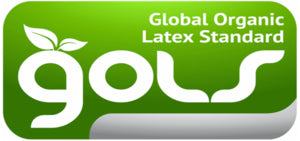Certified Organic GOLS latex