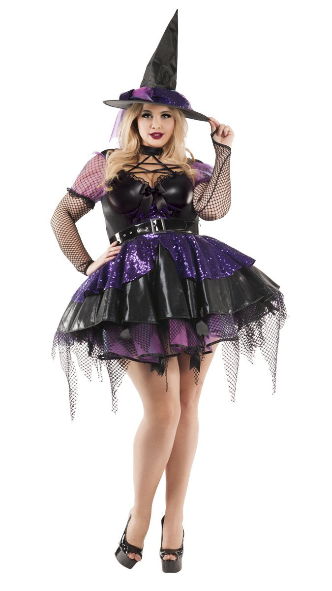 Bewitching Witch Womens Plus Size Costume