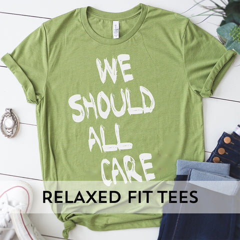 Relaxed Fit Tees