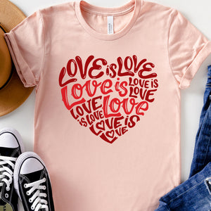 Love Is Love Relaxed Fit T-Shirt