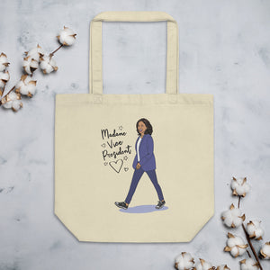 Madame Vice President Organic Cotton Tote Bag