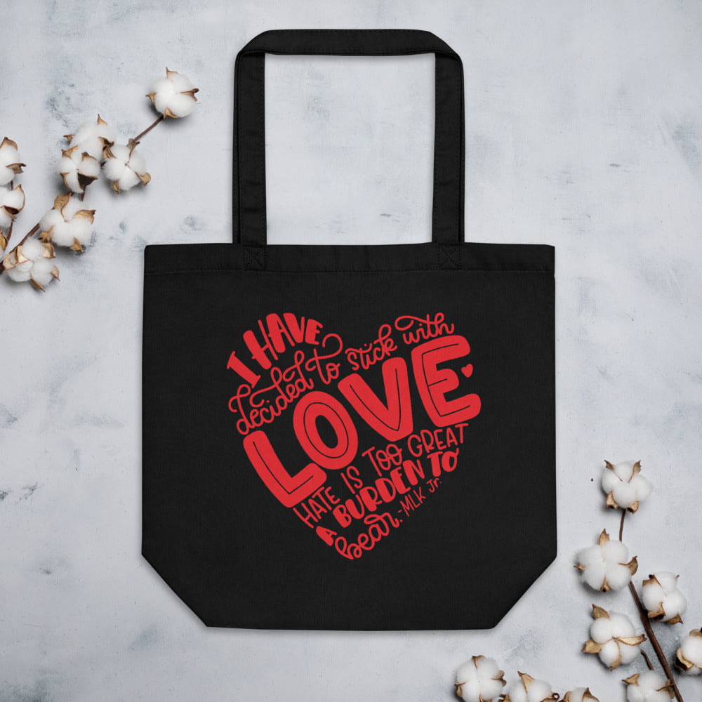 I Love Bears Cotton Tote Bag