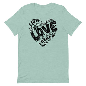 I Have Decided To Stick With Love Relaxed Fit T-Shirt