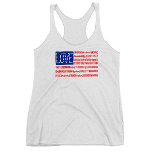 America The Wonderful Women's Racerback Tank Top