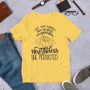 Nevertheless, She Persisted Relaxed Fit T-Shirt
