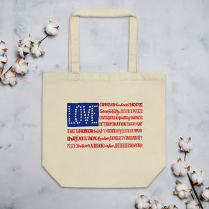America The Wonderful Organic Cotton Tote Bag