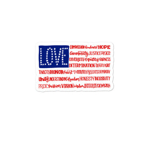 America The Wonderful Sticker
