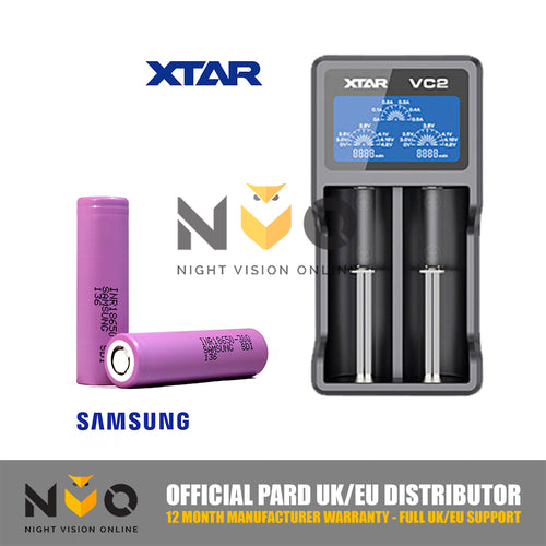 Xtar® VC2 Charger - Samsung® 18650 Batteries