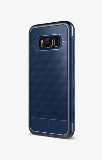 Parallax Navy For Galaxy S8 Plus