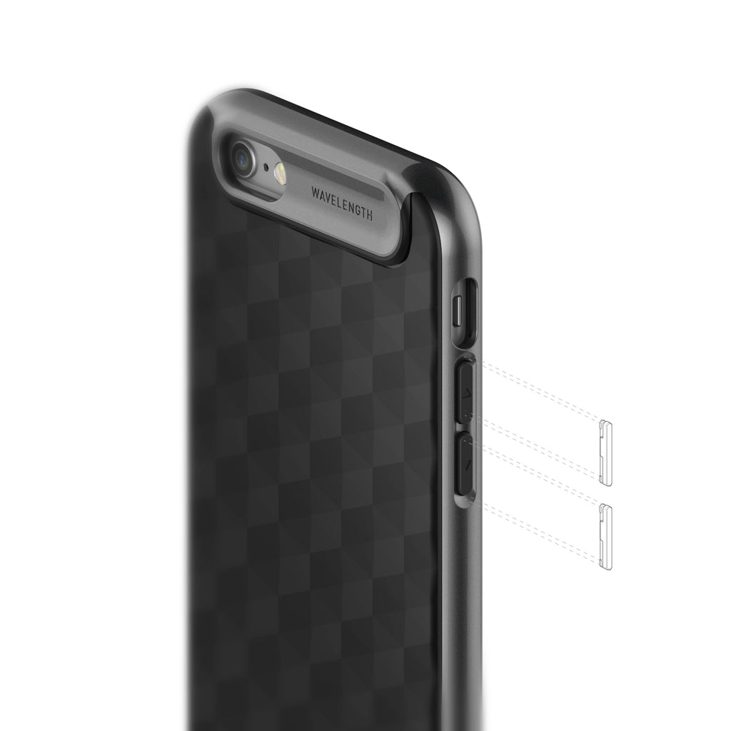 Parallax Black For iPhone 6 / 6S
