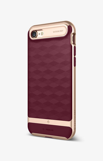 Parallax Burgundy For iPhone 7