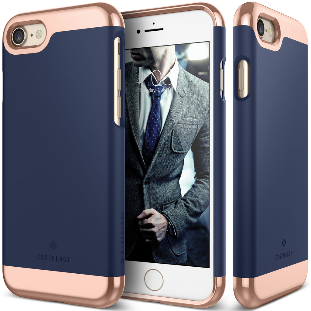 Savoy Navy Blue For iPhone 8/7
