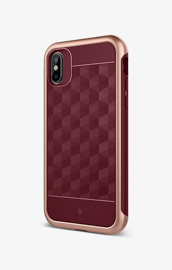 Skyfall Burgundy For iPhone XS/X