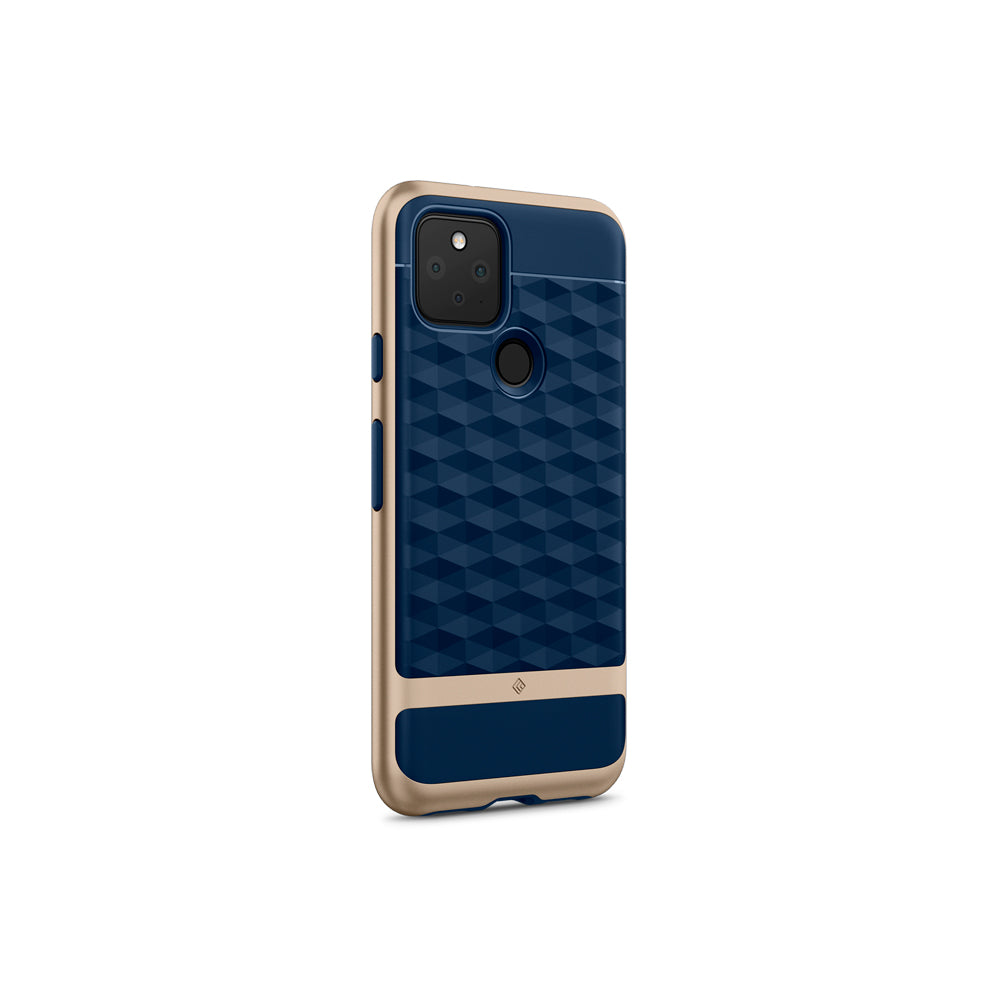 Parallax Navy Blue  For Pixel 5