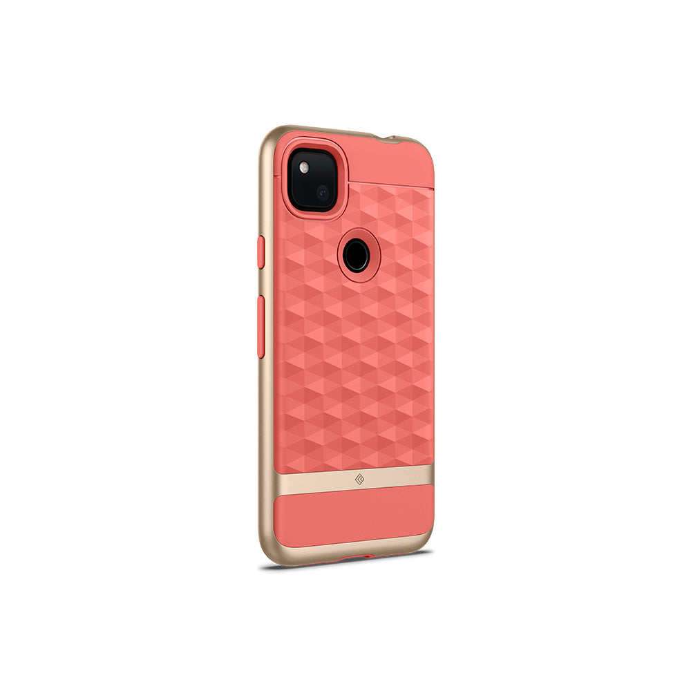 Parallax Coral Pink For Pixel 4A