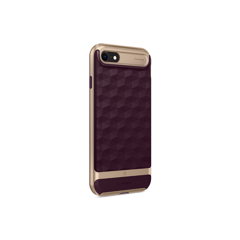 Parallax Burgundy For iPhone SE 2020