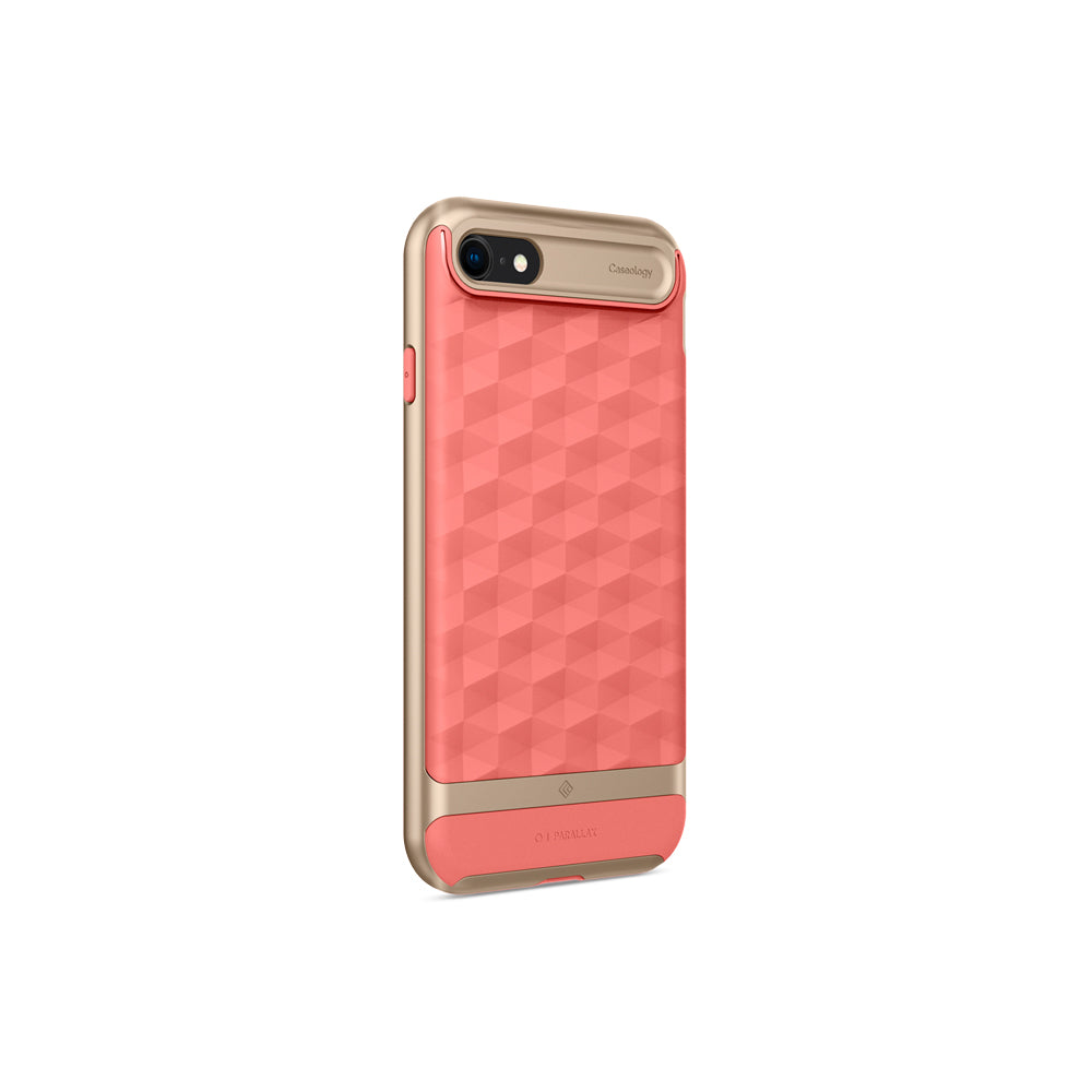 Parallax Coral Pink For iPhone SE 2020
