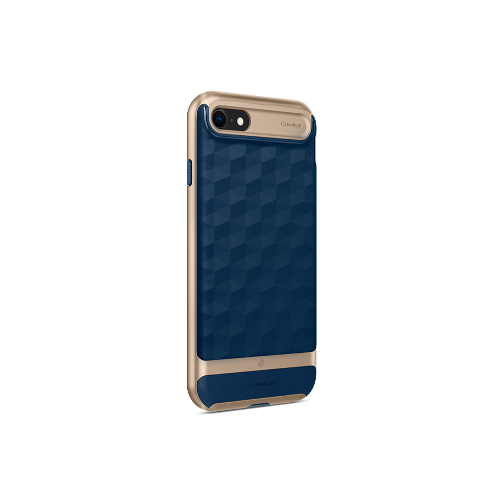 Parallax Navy Blue For iPhone SE 2020