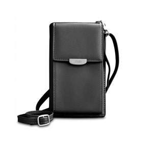 Crossbody Wallet Pouch Black