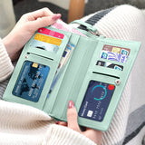 Crossbody Wallet Pouch Teal