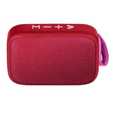 Wireless Fabric Speaker Red