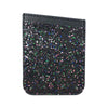 Wallet Card Case Black Glitter