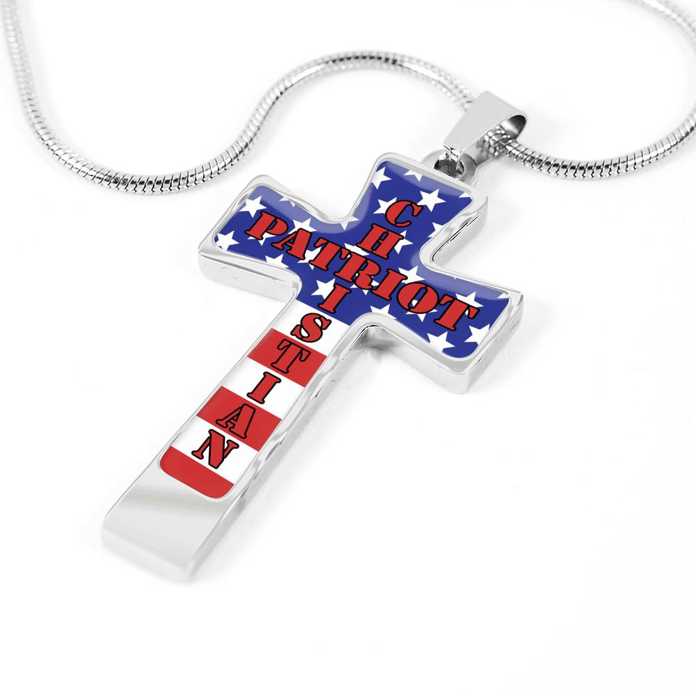 246. Patriot Crosses (Have Them Engraved)