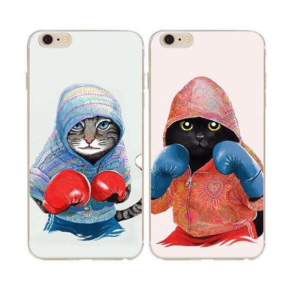 Bub Kat - Boxing Cat iPhone Case